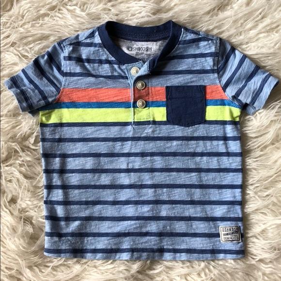 bb097480 OshKosh B'gosh Shirts & Tops   Baby Henley Shirt   Poshmark
